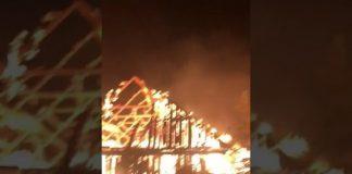 incendiu costișa